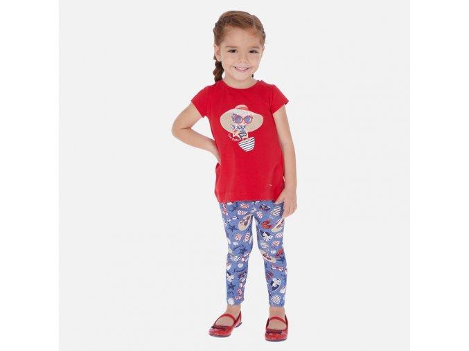 Dívčí set legín a trička Mayoral 3725