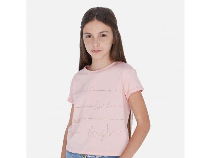 Dívčí triko s krátkým rukávem  Mayoral 6019