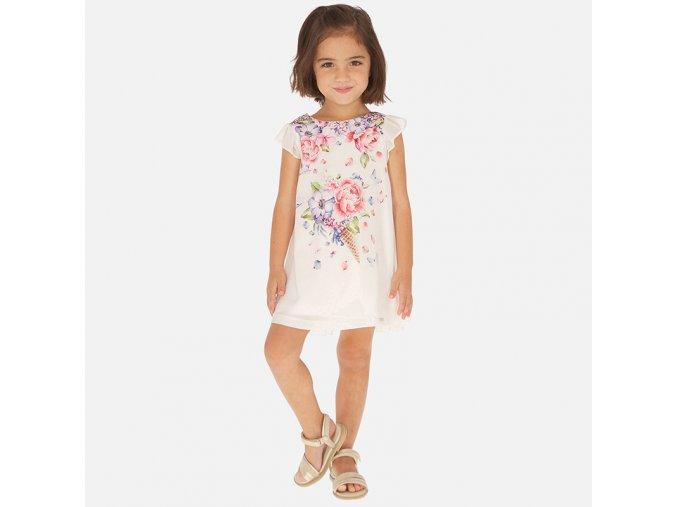 Dívčí letní šaty Mayoral 3912