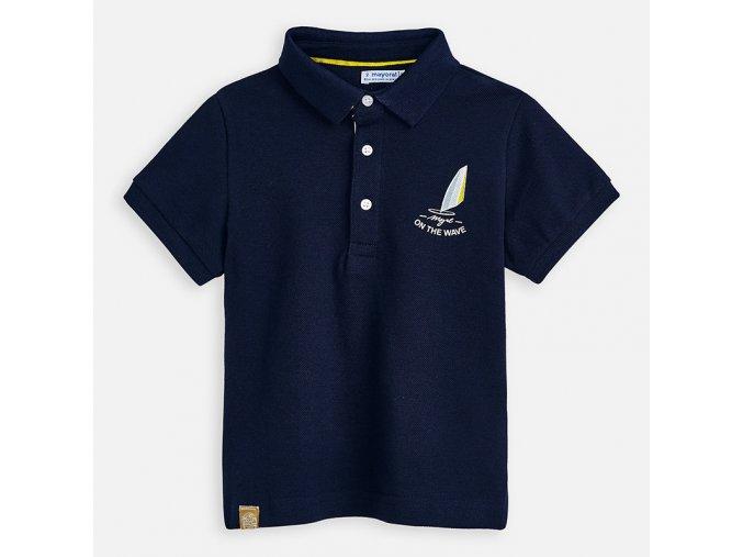 Chlapecké polo triko s krátkým rukávem Mayoral 3155