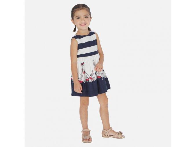 Dívčí letní šaty Mayoral 3941