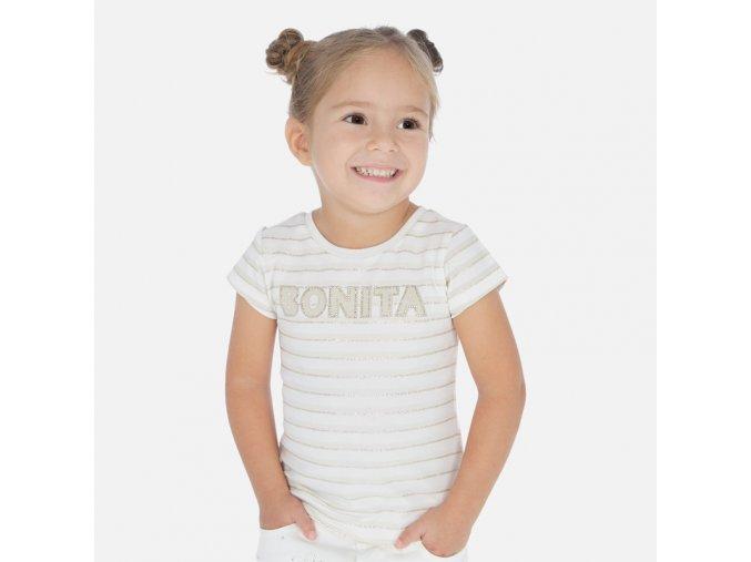 Dívčí triko s krátkým rukávem Mayoral 3011