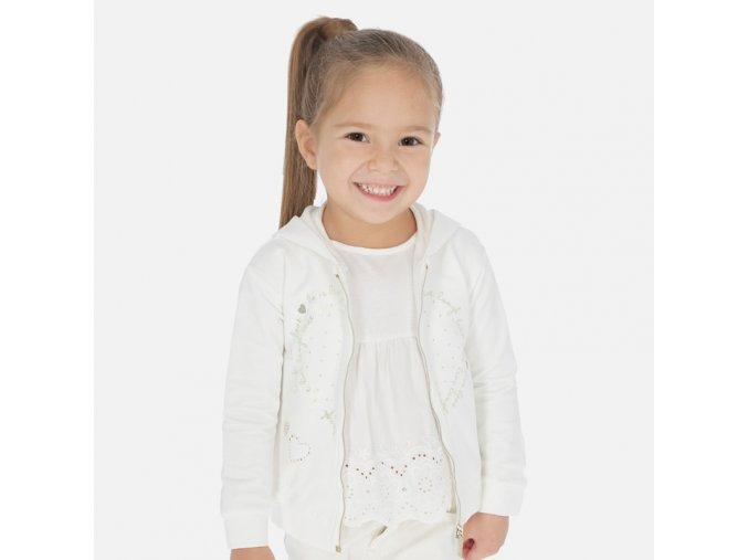 Dívčí mikina s kapucí Mayoral 3469