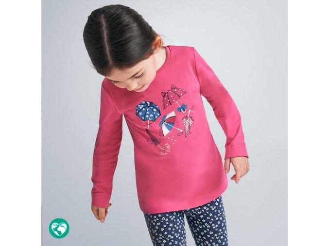 Dívčí triko s dlouhým rukávem Mayoral 4070