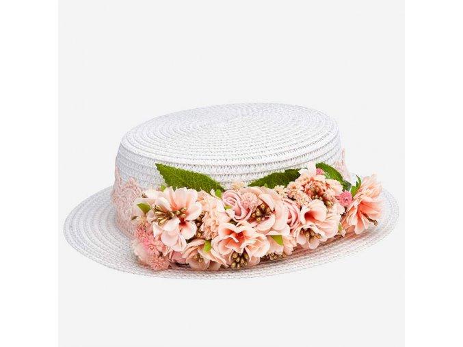 Dívčí letní klobouk Mayoral 10815