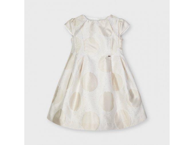 Dívčí svatební šaty Mayoral 3923