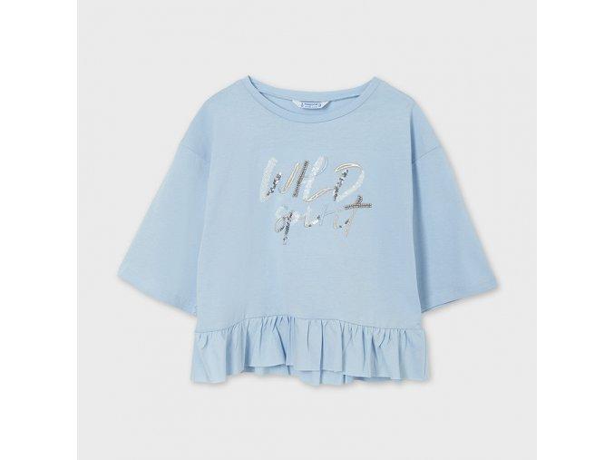 Dívčí triko s krátkým rukávem Mayoral 6006