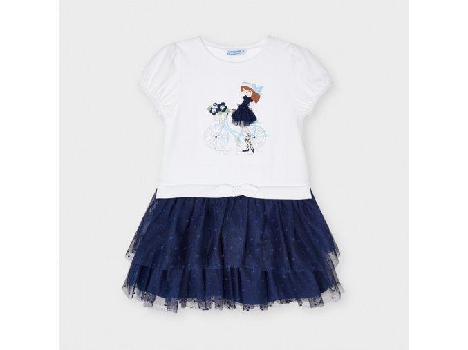 Dívčí letní šaty Mayoral 3916