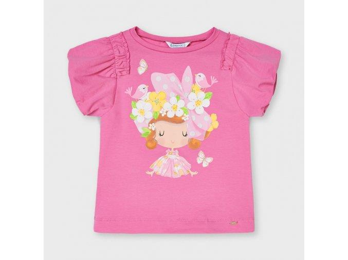 Dívčí triko s krátkým rukávem Mayoral 3002