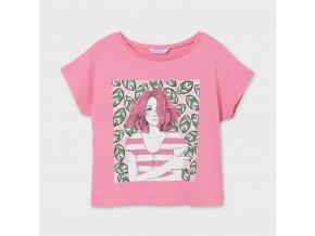 Dívčí triko s krátkým rukávem Mayoral 6009