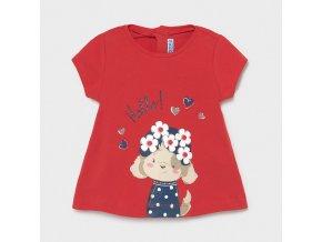 Dívčí triko s krátkým rukávem Mayoral 1088