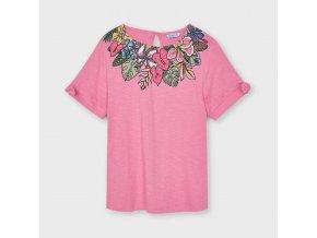 Dívčí triko s krátkým rukávem Mayoral 6007