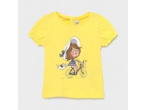 Dívčí triko s krátkým rukávem Mayoral 1087