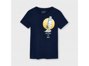 Chlapecké triko s krátkým rukávem a potiskem Mayoral 6084
