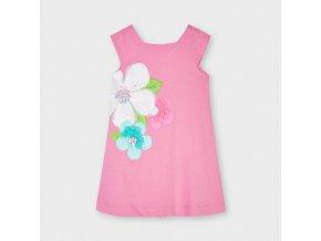 Dívčí letní šaty s kytkou Mayoral 3956