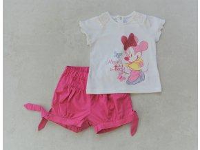 Dívčí set trika a kraťasů Disney Nucleo
