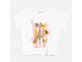 Dívčí triko s krátkým rukávem Mayoral 6020