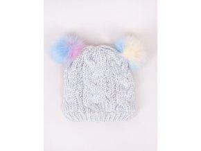 Dívčí zimní čepice Blanka YO! CLUB