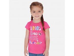 Dívčí triko s krátkým rukávem Mayoral 3018