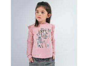 Dívčí triko s dlouhým rukávem Mayoral 4062