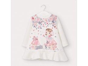 Dívčí teplé šaty Mayoral 2969