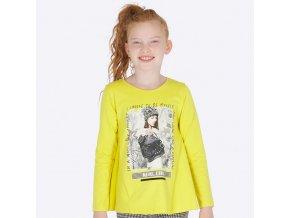Dívčí triko s dlouhým rukávem Mayoral 7020
