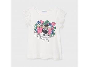 Dívčí letní triko s krátkým rukávem Mayoral 6024