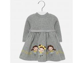 Dívčí pletené šaty Mayoral 2928