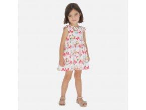 Dívčí letní šaty s potiskem Mayoral 3928