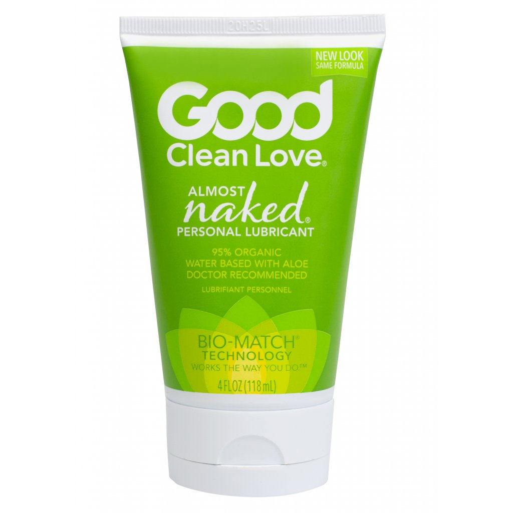 Good Clean Love Lubrikační gel proti zánětům a mykózám Téměř nahá