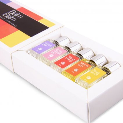 Balm Balm Dárkový set 5 x 5 ml Single Note parfémů