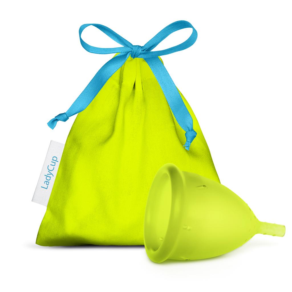 LadyCup menstruační kalíšek Neon