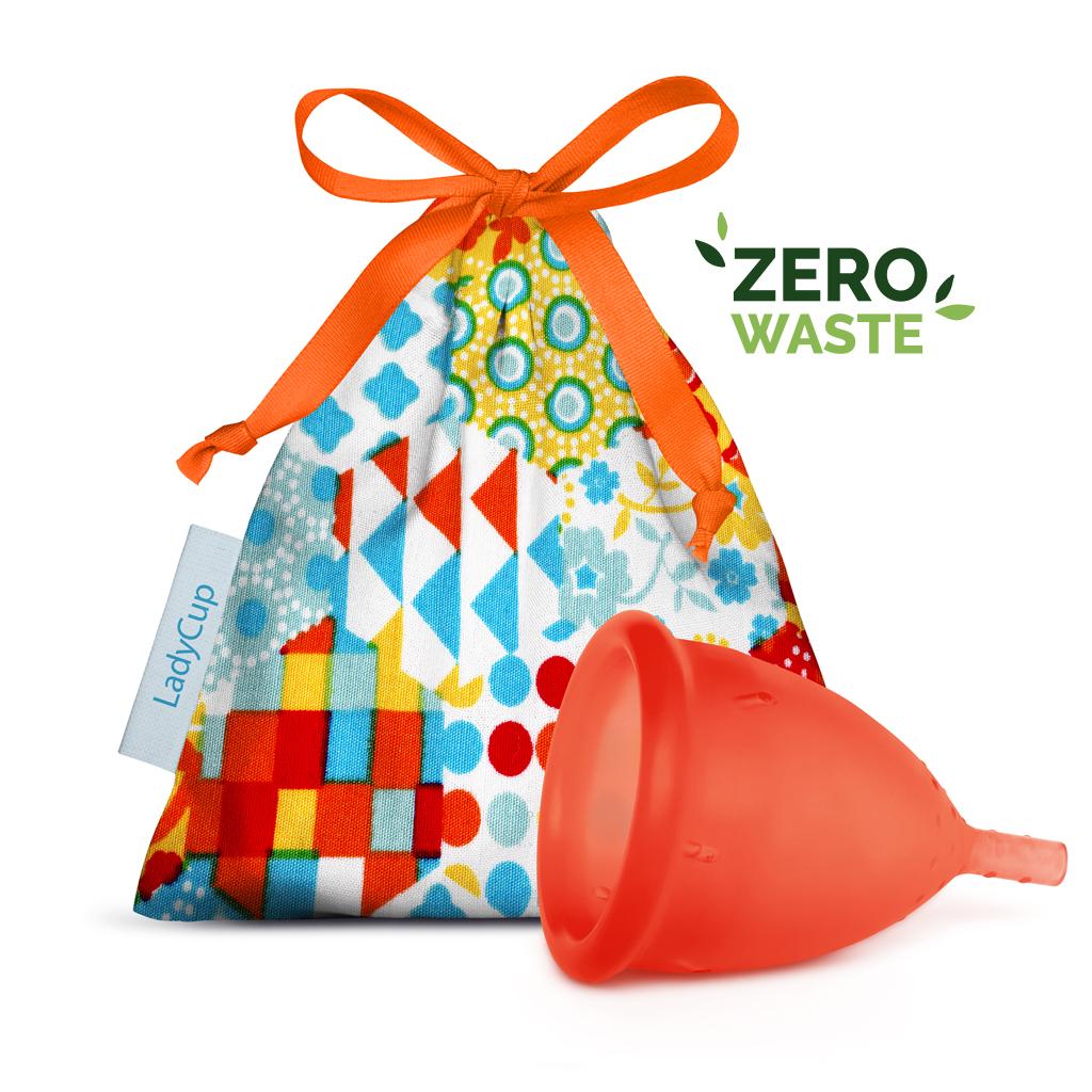 LadyCup menstruační kalíšek Oranžový