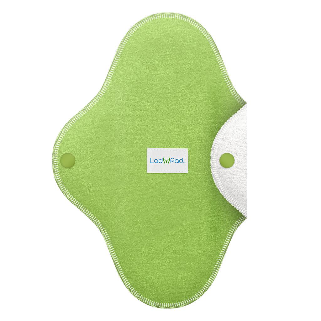 LadyPad polobarevná slipová vložka Mátová zelená