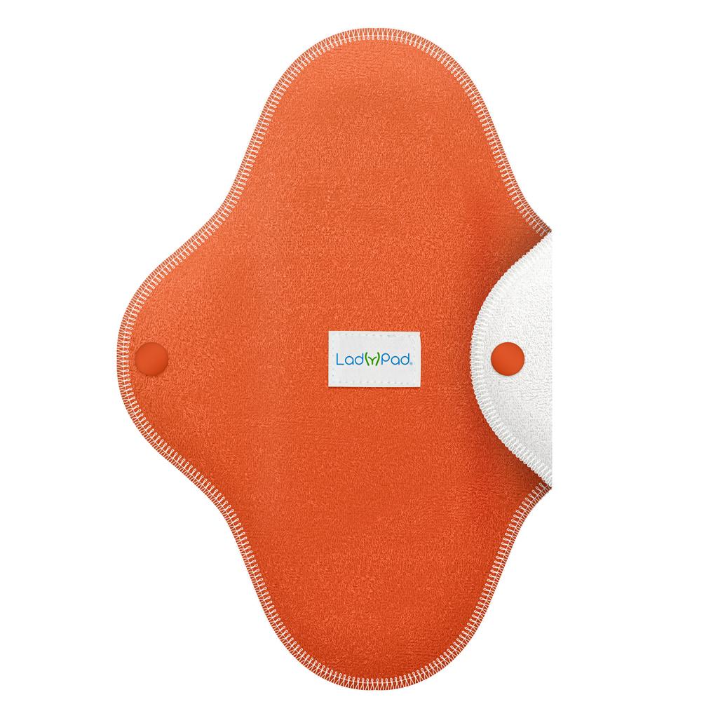 LadyPad polobarevná slipová vložka Oranžová