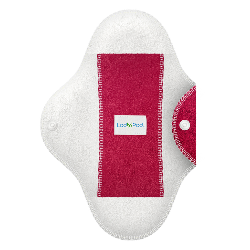 ladypad pads and liners half cervena