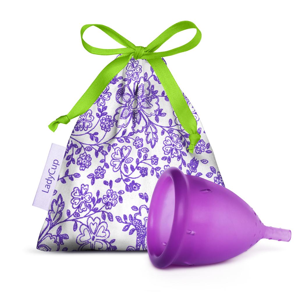 LadyCup menstruační kalíšek Letní švestka