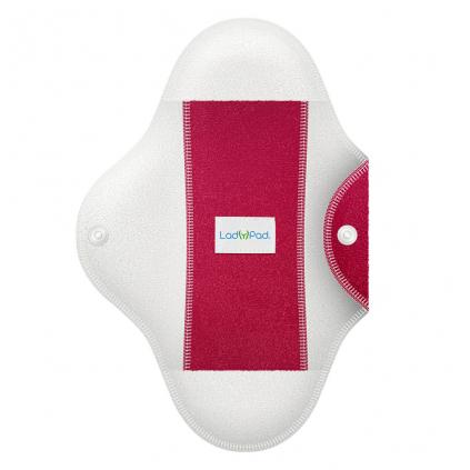 LadyPad polobarevná látková vložka s vkládací vložkou Francouzská fuchsie
