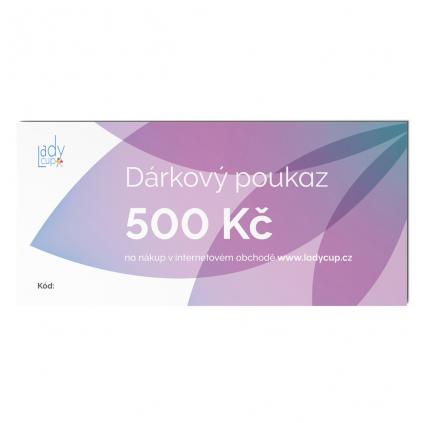 1024x1024px darkovy poukaz ladycup 500 bily