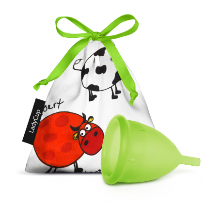 LadyCup menstruační kalíšek Zelená louka