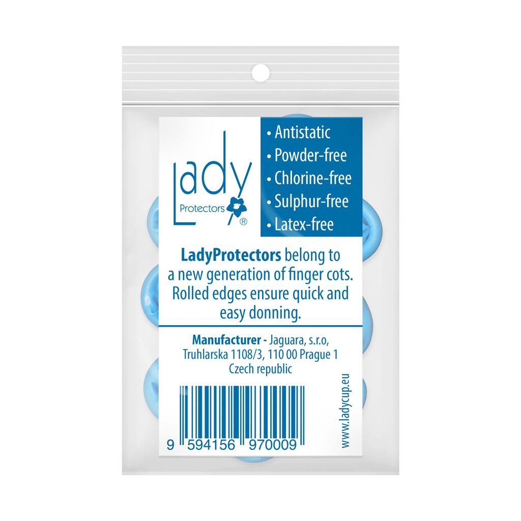 Návleky na prsty LadyProtectors Balení LadyProtectors: 12 kusů