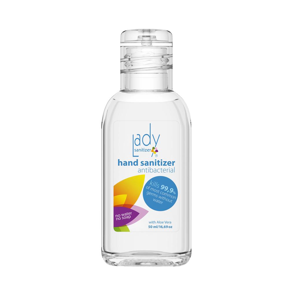 Antibakteriální gel LadySanitizer