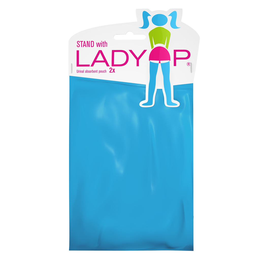 ladyp urinal pouch package