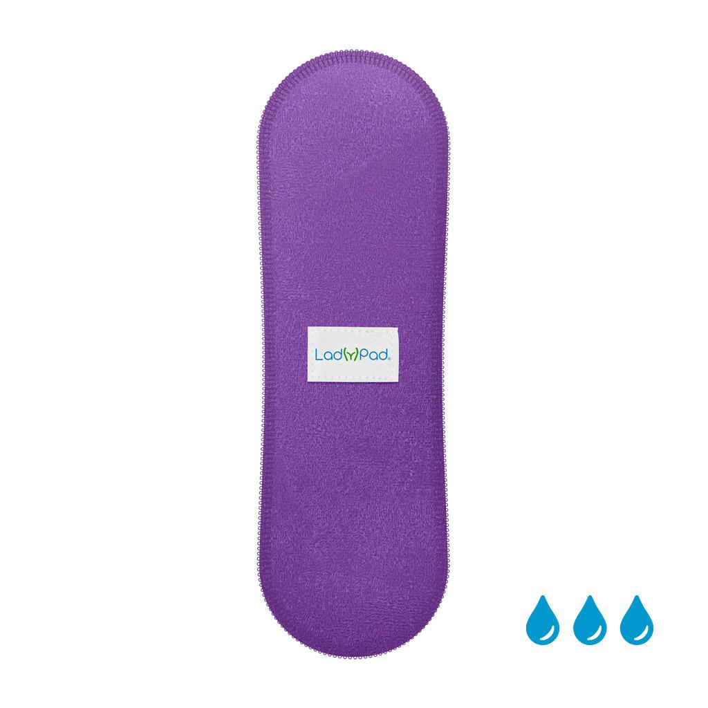 LadyPad Inneneinlagen Berührung des Lavendels