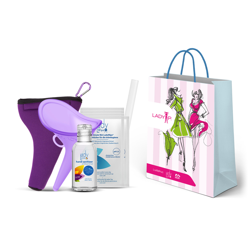 Gift Set with small LadySanitizer