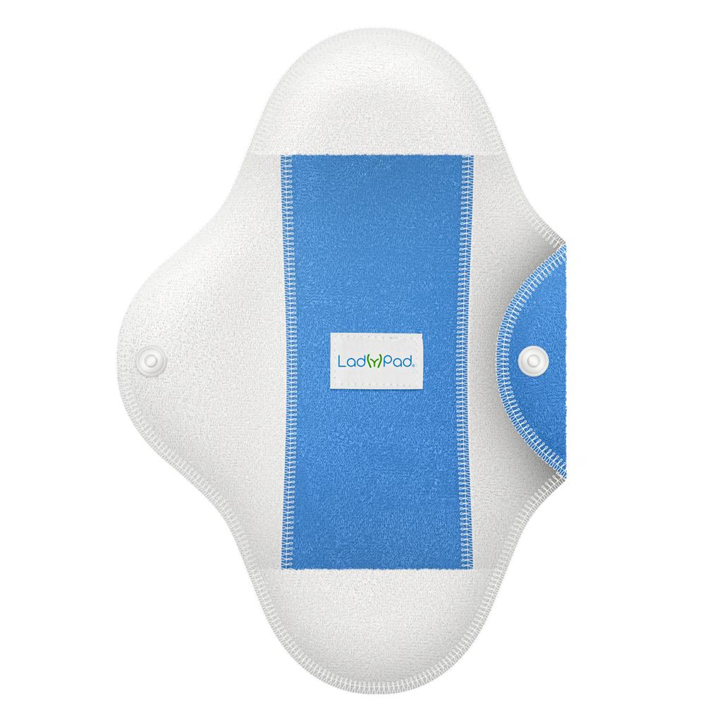 ladypad pads and liners half modra