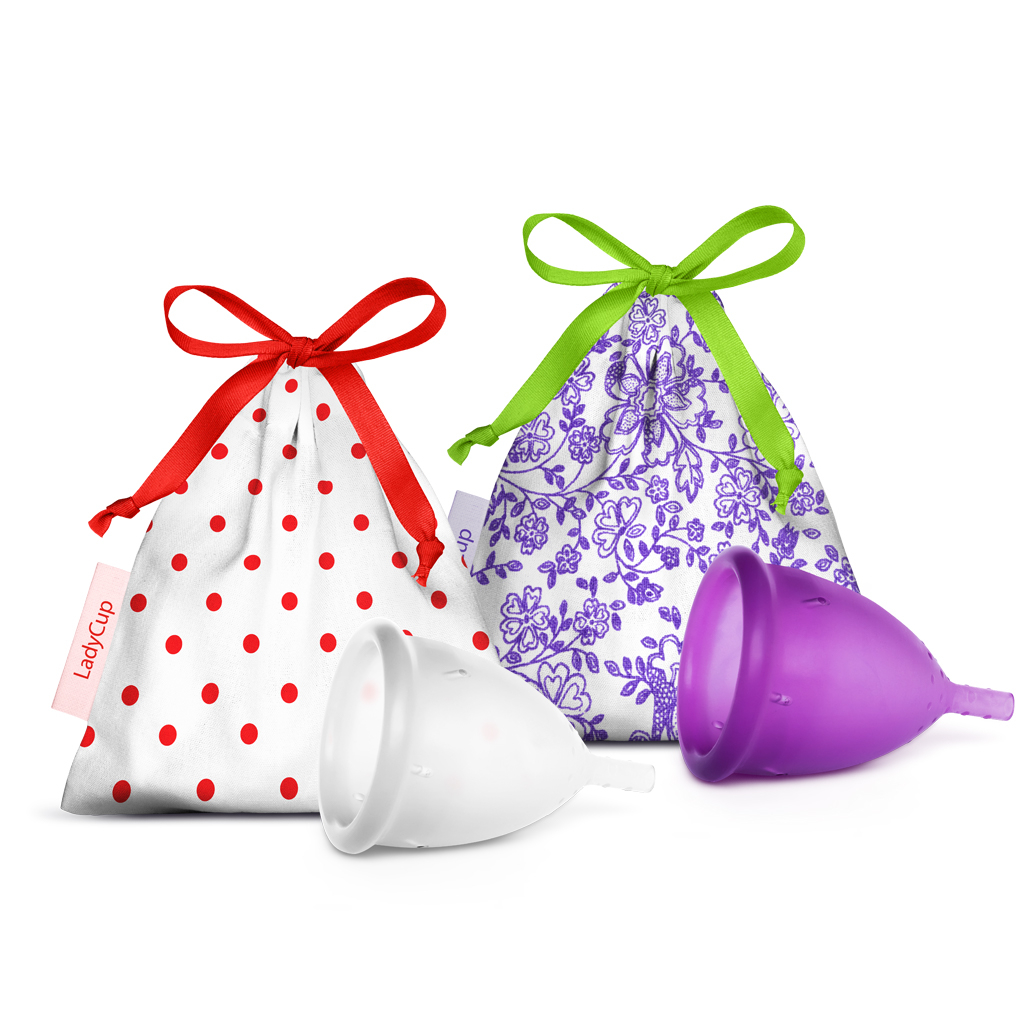 LadyCup DUO pack 2×S (small)