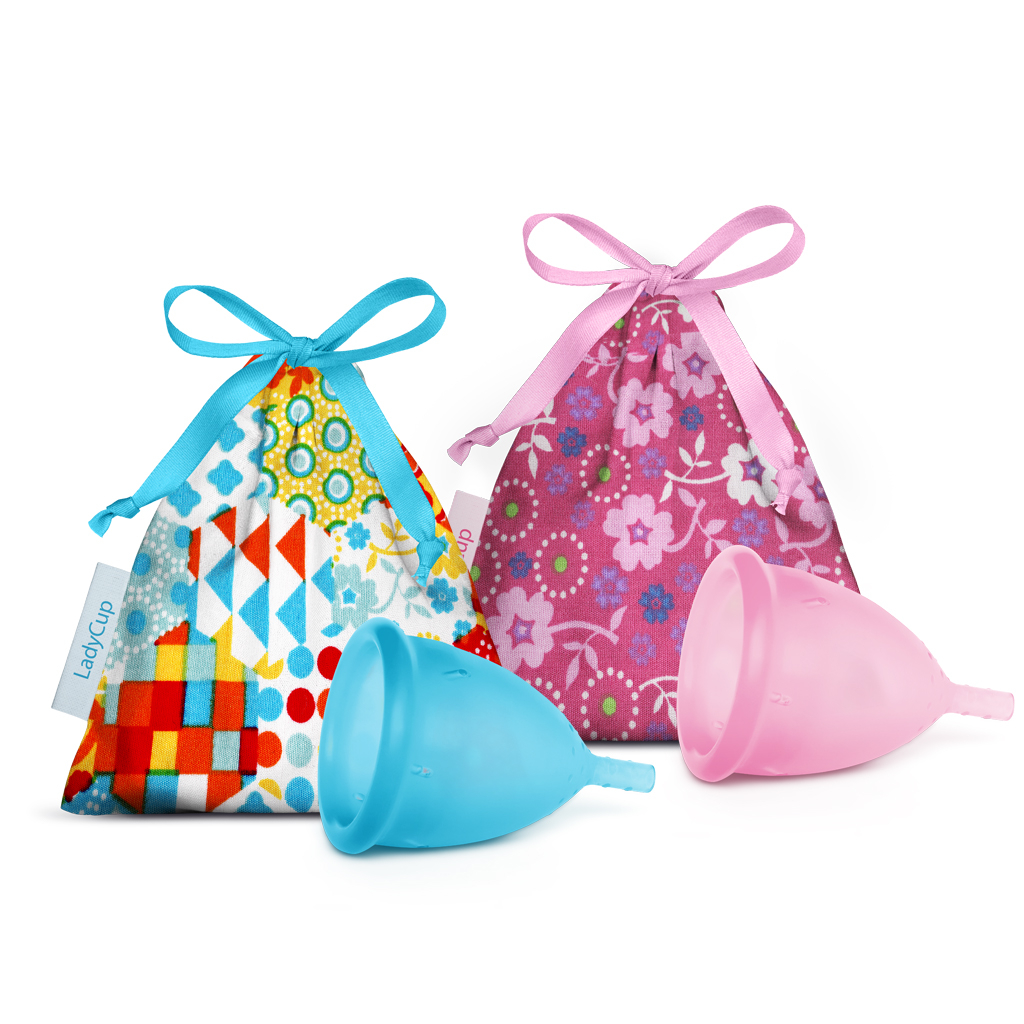 LadyCup DUO pack S (small) und L (large)