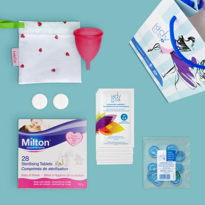 Gift Set with Milton sterilising tablets
