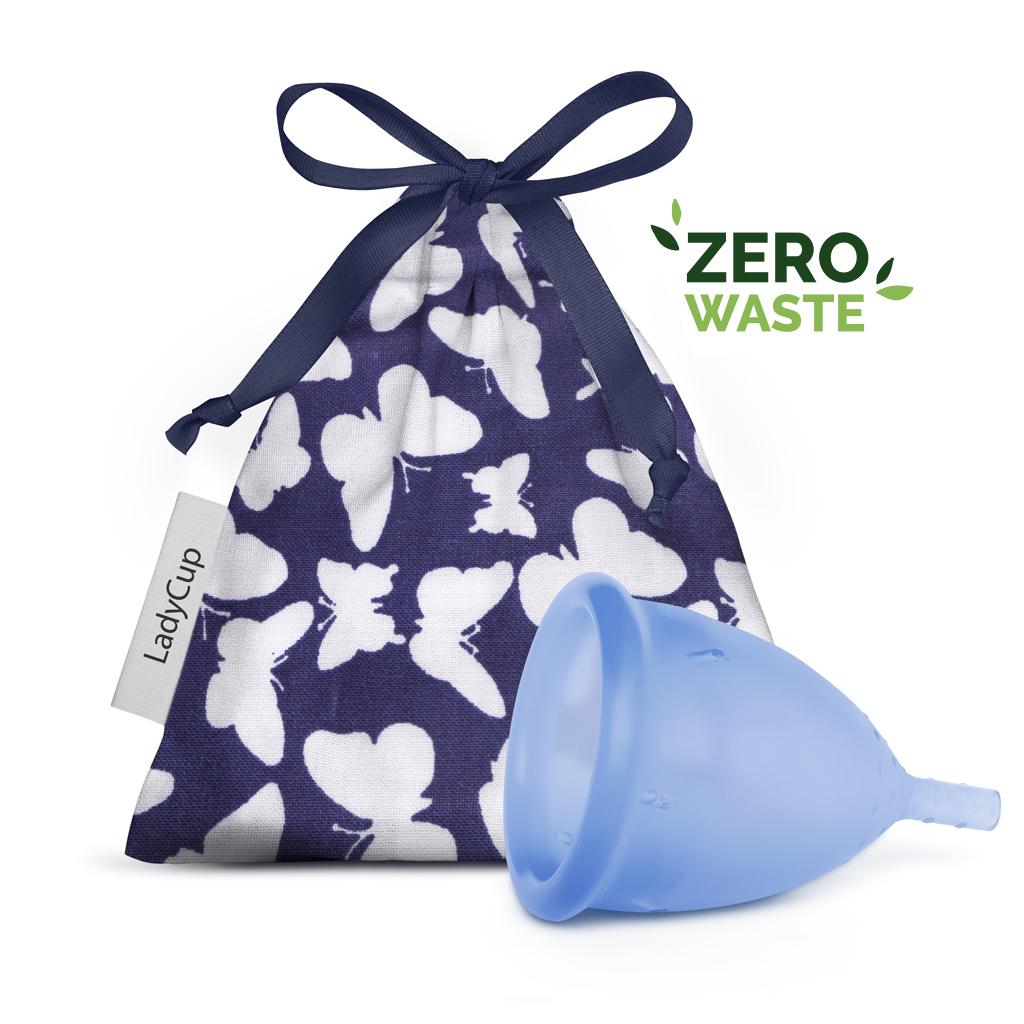 LadyCup Menstrual Cup Blue